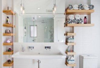 и практичные полки для ванной комнаты