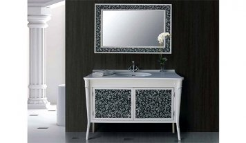 Комплект мебели для ванной Валенсия bianco Атолл | Комплекты