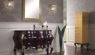 Мебель для ванной Италия Juwel. Мебель для ванных комнат
