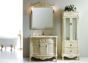 Мебель для ванной комнаты: классика вечна | Ваннаправда.ру