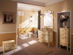 Мебель и аксессуары для ванной комнаты от Bagno Piu . Коллекция