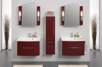 Напольный шкаф для ванной комнаты