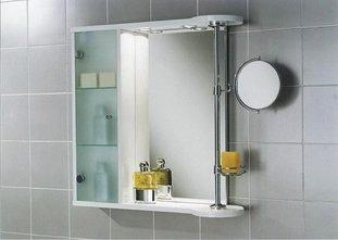 Навесной шкаф с зеркалом в ванную комнату своими руками | Shtory