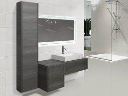 Пенал для ванной комнаты, напольный, угловой или навесной, какой