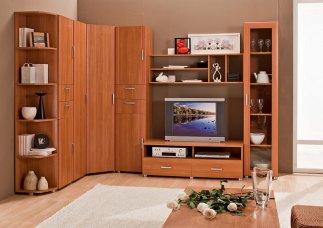Подольск, Климовск дешевые стенки в гостиную. Купить мебель для