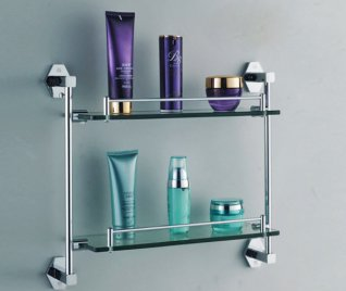 Полки для ванной комнаты: виды и как сделать своими руками
