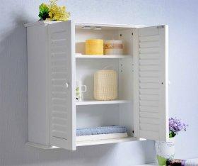 Шкаф навесной в ванную комнату: как выбрать и установить | Ремонт