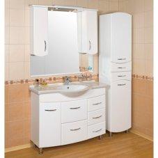 Шкафчики для ванной комнаты : как выбрать, зеркальный шкаф, цены в