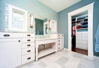 Шкафы для ванной комнаты (50 фото): как объединить практичность и