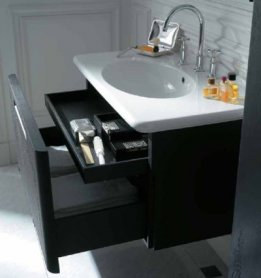 Тумба для ванной комнаты с раковиной (53 фото): как сделать своими