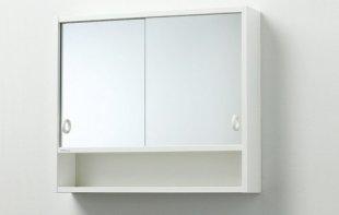 Зеркальный шкаф для ванной распашной или раздвижной?